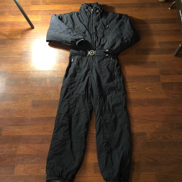 6fe58b21232 Bogner Jackets   Blazers - Bogner Women s One Piece Ski Suit Size 10 Black